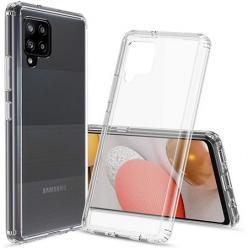 Etui na Samsung Galaxy A42 5G silikonowe Slim Crystal Case Przezroczyste