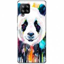 Etui na Samsung Galaxy A42 5G Panda watercolor