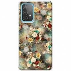 Etui na Samsung Galaxy A52 5G Bukiet kolorowych róż