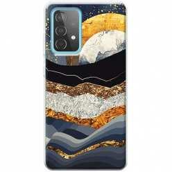 Etui na Samsung Galaxy A52 5G Marmurowy zachód słońca
