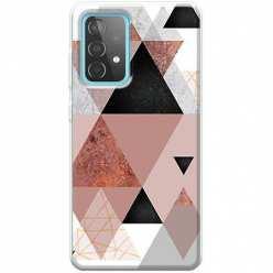Etui na Samsung Galaxy A52 5G Abstrakcyjne trójkąty