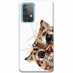 Etui na Samsung Galaxy A52 5G Wścipski kotek
