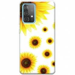 Etui na Samsung Galaxy A52 5G Słoneczniki