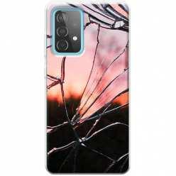 Etui na Samsung Galaxy A52 5G Rozbite szkło