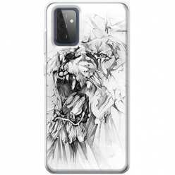 Etui na Samsung Galaxy A72 5G Król lew rysunkowy