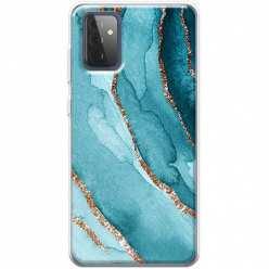 Etui na Samsung Galaxy A72 5G Błękitny Agat