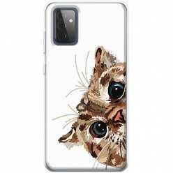 Etui na Samsung Galaxy A72 5G Wścipski kotek