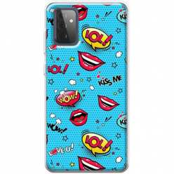 Etui na Samsung Galaxy A72 5G Kiss Me… LOL! Usta