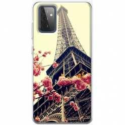 Etui na Samsung Galaxy A72 5G Wieża Eiffla Boho