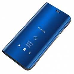 Etui na Galaxy S7 Edge Flip Clear View z klapką - granatowy.