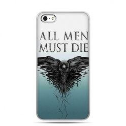 Etui na telefon Gra o Tron All men must die kruk