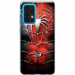 Etui na Samsung Galaxy A02s Stalowy spider 3