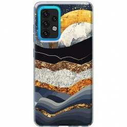 Etui na Samsung Galaxy A02s Marmurowy zachód słońca