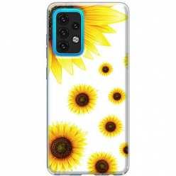 Etui na Samsung Galaxy A02s Słoneczniki