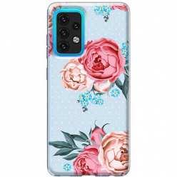 Etui na Samsung Galaxy A02s Bukiet tradycyjnych róż