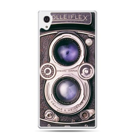 Etui na Xperia M4 Aqua aparat Rolleiflex