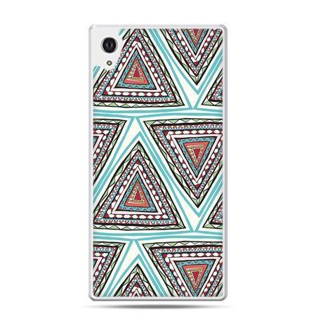 Etui na Xperia M4 Aqua Azteckie trójkąty