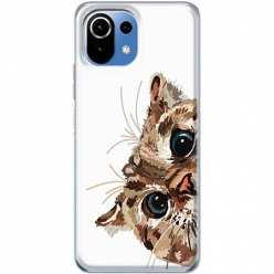 Etui na Xiaomi Mi 11 Lite Wścipski kotek