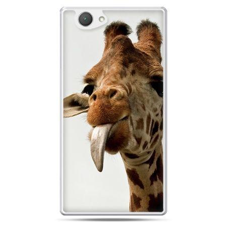 Xperia Z1 compact etui żyrafa z językiem
