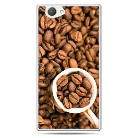 Xperia Z1 compact etui kubek z kawą