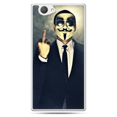 Xperia Z1 compact etui Anonimus Fuck You