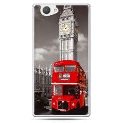 Xperia Z1 compact etui czerwony autobus londyn