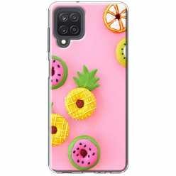 Etui na Samsung Galaxy M12 Kolorowe pączki owocowe