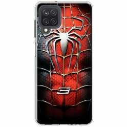 Etui na Samsung Galaxy M12 Stalowy spider 3