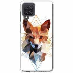 Etui na Samsung Galaxy M12 Geometrczny Lis