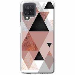 Etui na Samsung Galaxy M12 Abstrakcyjne trójkąty