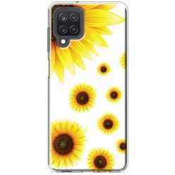 Etui na Samsung Galaxy M12 Słoneczniki