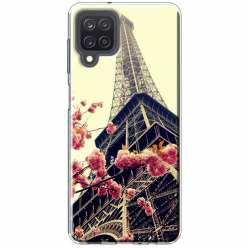 Etui na Samsung Galaxy M12 Wieża Eiffla Boho