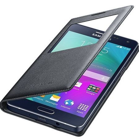 Galaxy A5 etui pokrowiec Flip S View biały z klapką