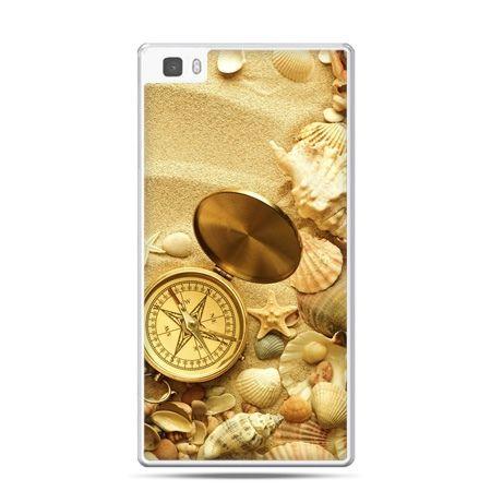 Huawei P8 Lite etui kompas na plaży