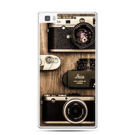 Huawei P8 Lite etui aparaty retro