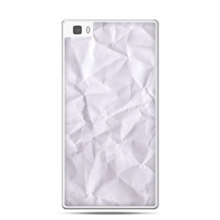 Huawei P8 Lite etui pomięty papier