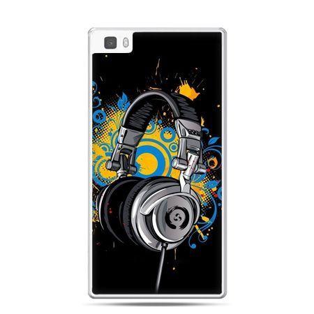 Huawei P8 Lite etui słuchawki