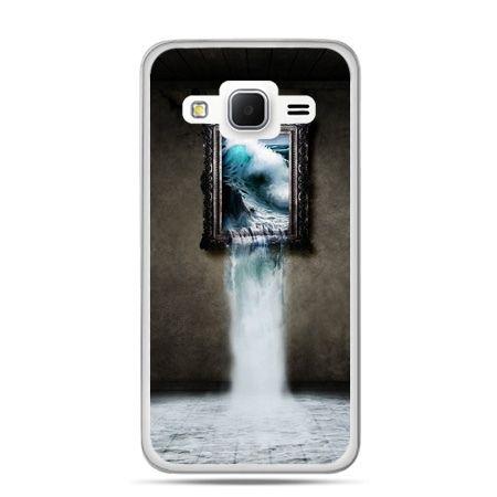Galaxy Grand Prime etui obraz wodospad