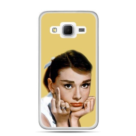 Galaxy Grand Prime etui Audrey Hepburn Fuck You