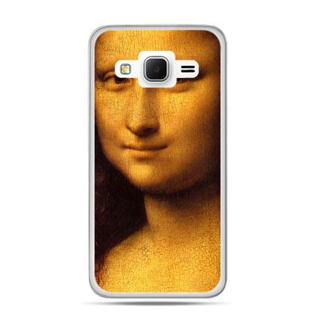 Galaxy Grand Prime etui Mona Lisa Da Vinci