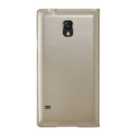 Galaxy S4 etui Flip S View złoty