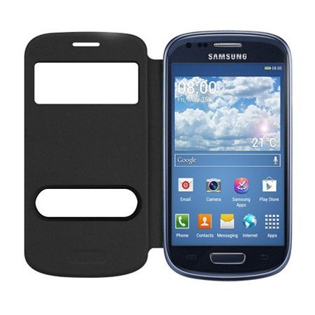 Galaxy Trend Plus etui Flip S View czarny