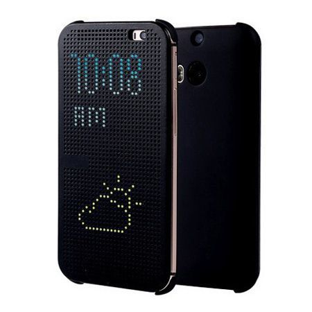 HTC Desire 820 etui Flip Dot View czarny