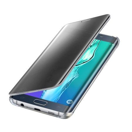 Galaxy S6 Edge etui Flip Clear View czarny
