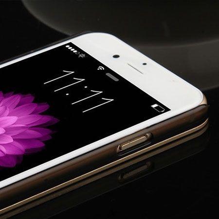iPhone 6 niebieskie plecki aluminiowe efekt cd