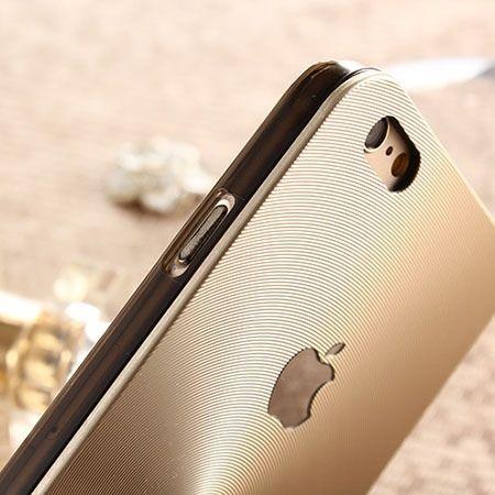 iPhone 5 złote plecki aluminiowe efekt cd
