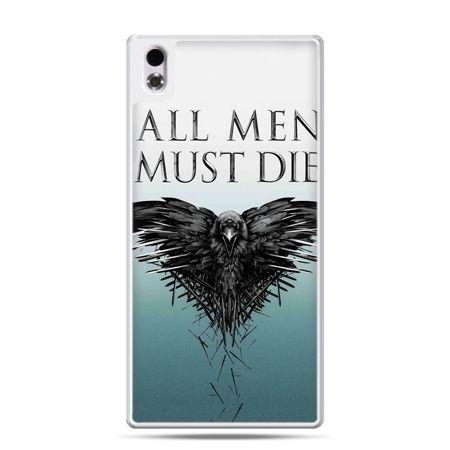 HTC Desire 816 etui all men must die