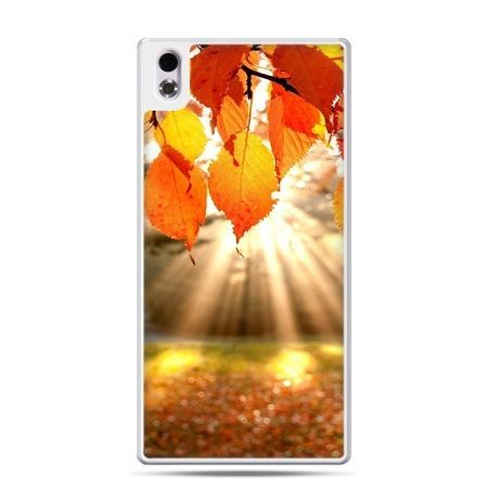HTC Desire 816 etui jesienne liście