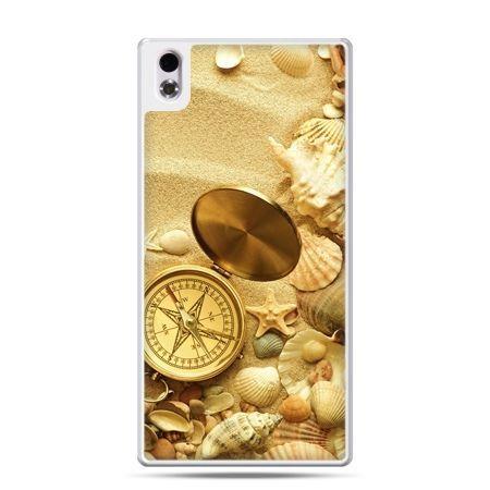HTC Desire 816 etui kompas na plaży