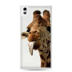 HTC Desire 816 etui żyrafa z językiem